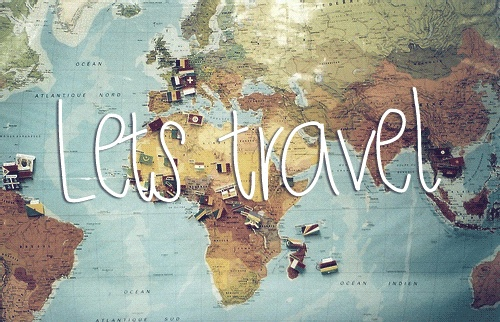 Frase: Let's Travel