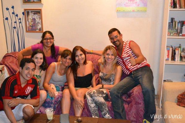 Y en un hostal en Río de Janeiro hice amigos que aún frecuento
