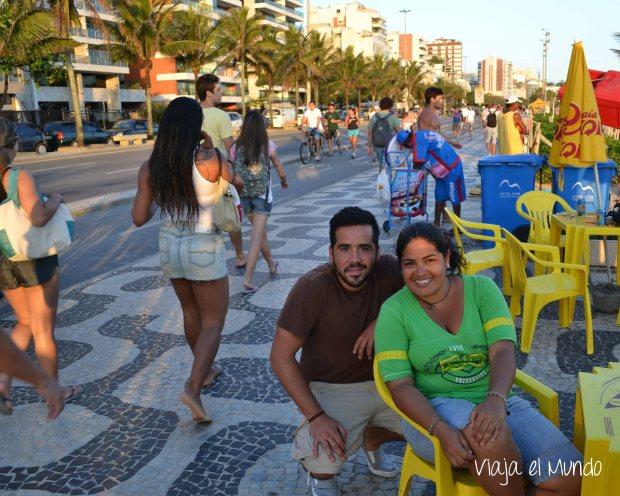 En Ipanema, conozco la historia de Ricardo