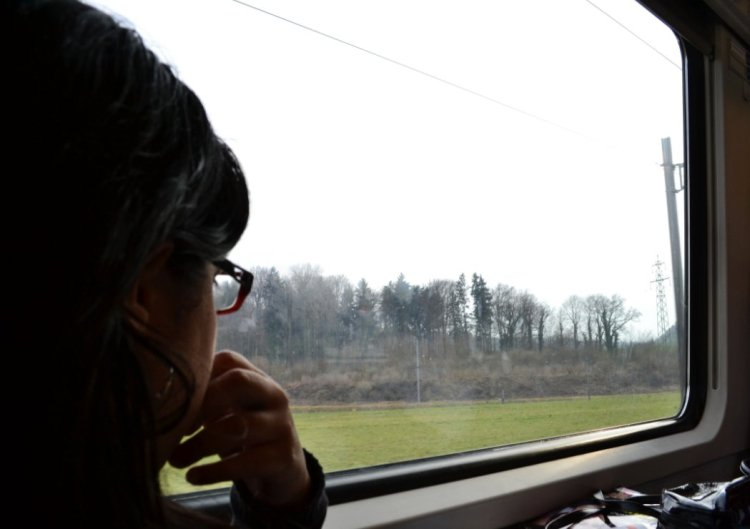 Una mañana de 2011, viajando de Zurich a Basel