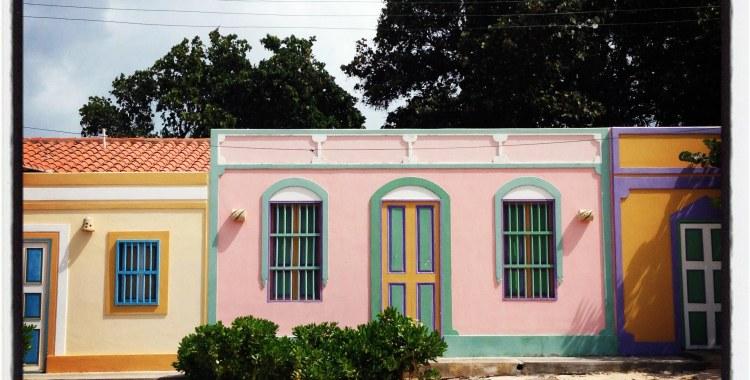 En el Gran Roque, todas las casas son de colores