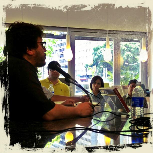 El escritor y periodista, Santiago Gamboa