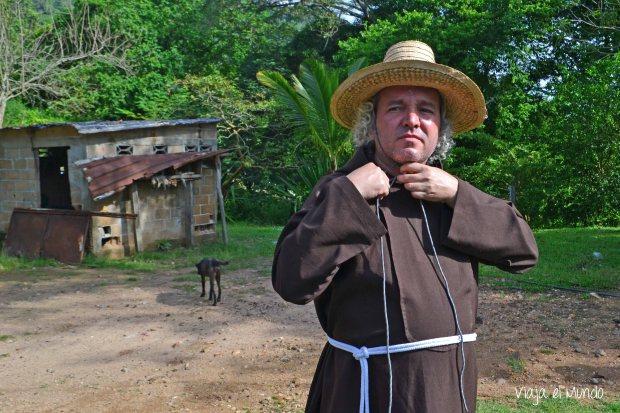 El Fray Nélson, director de la Misión