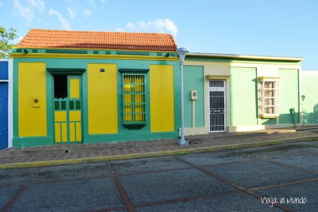 Una de las calles de Santa Lucía