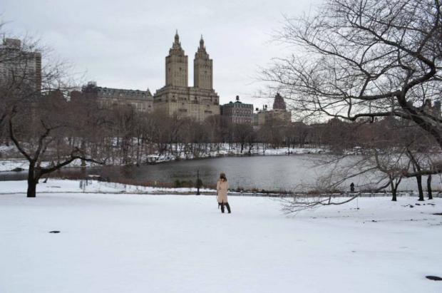 En Nueva York los días fueron fríos, muy fríos