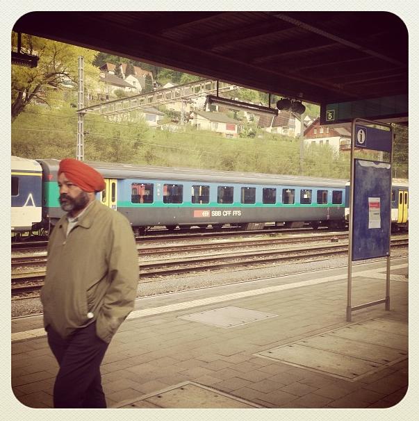 Desde el tren, de Zurich a Basel