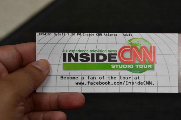 Mi entrada al tour por CNN