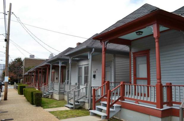 Las casas típicas del sur. Un pedacito del Sitio Histórico Martin Luther King