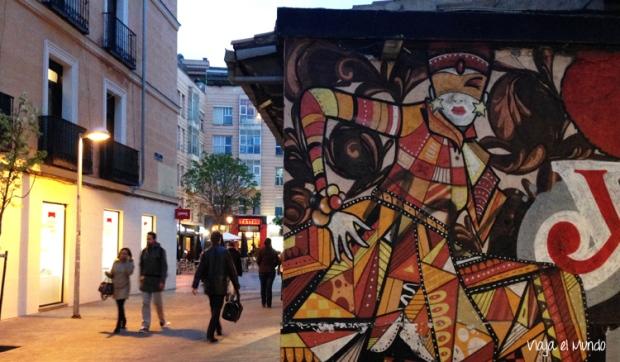 Arte urbano en Fuencarral