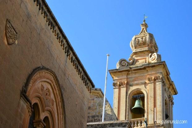 El Palazzo Gatto Murina es el edificio más antiguo de Mdina; data del año 1350
