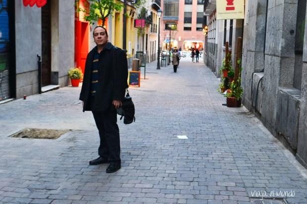 En la calle Libertad