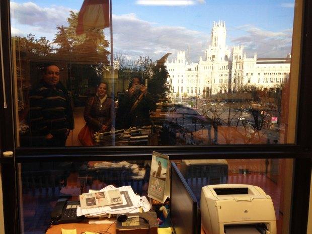 El despacho y la ventana