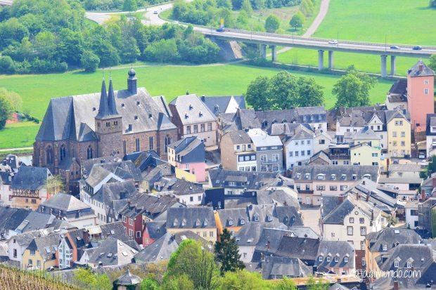 Saarburg visto desde el teleférico