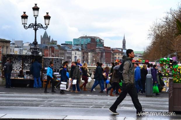 Caminando por Dublín