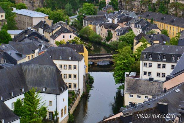 Un vistazo al Grund, en Luxemburgo