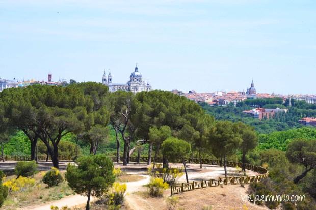 Madrid, vista desde el teleférico