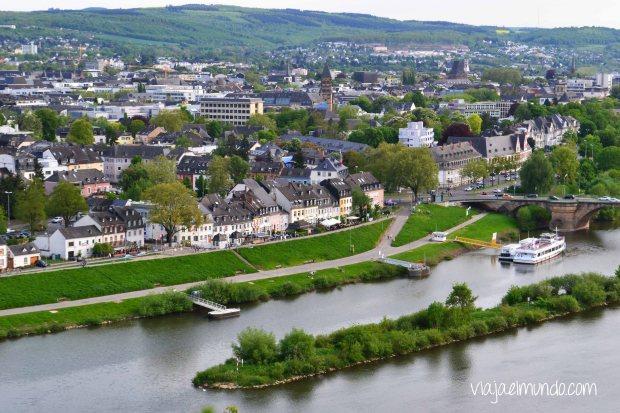 Una de las tantas vistas de Trier, en Alemania