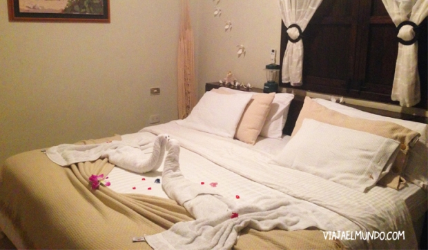 Los cuartos son amplios y cómodos