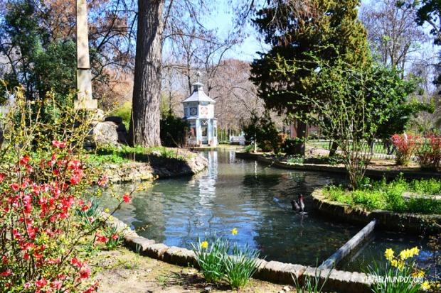 Parte del jardín chino de Aranjuez