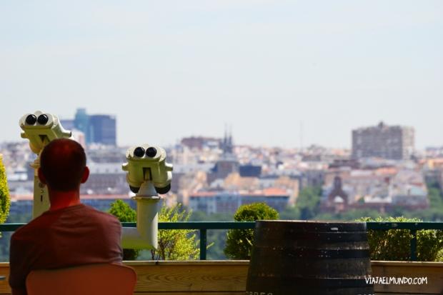 Mirar a Madrid, desde lejos