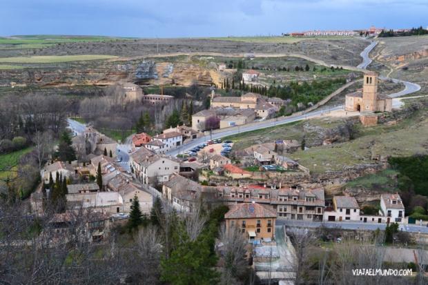 Segovia y sus caminos, vistos desde El Alcazar