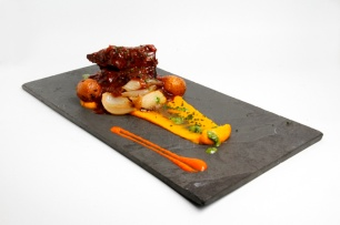 Pulpo al grill / Foto cortesía Juana La Loca Restaurante