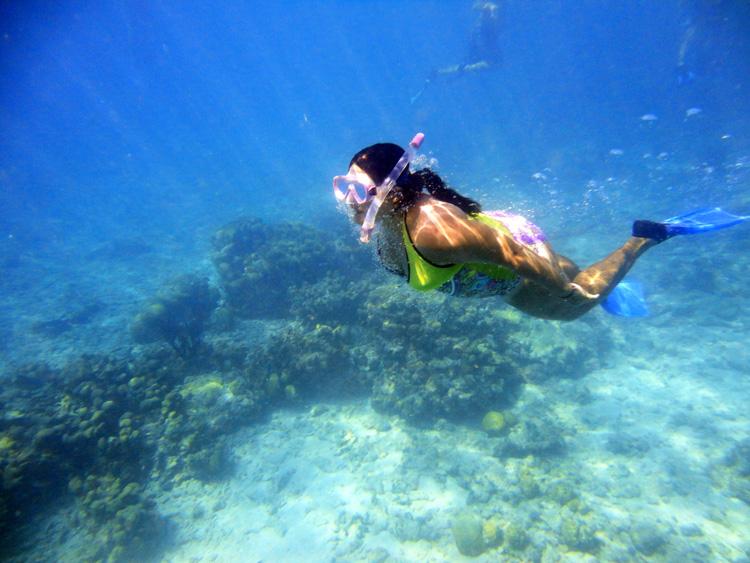 En la profundidad de Cayo Sombrero