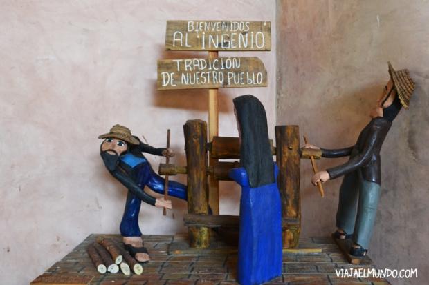Una obra de Alberto Manzanilla en el Trapiche de Los Clavo