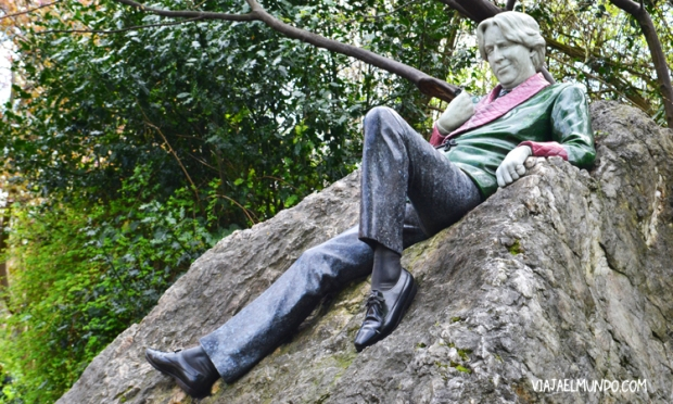 Oscar Wilde en Merrion Square Park