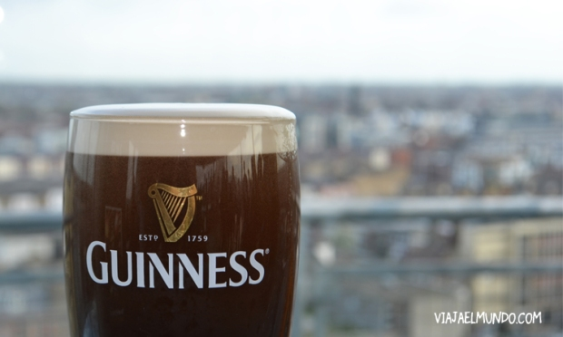 Sírvanme una Guinness, por favor