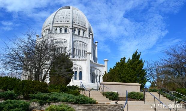 Y el templo Bahá'í, para contrastar