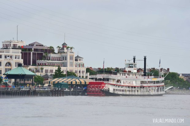Pero yo pagué 2$ para ver a New Orleans así, de lejos