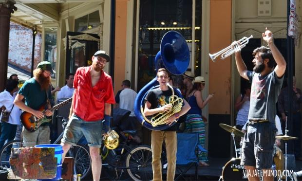 The Second Hand Street Band, mi favorita en las calles de New Orleans
