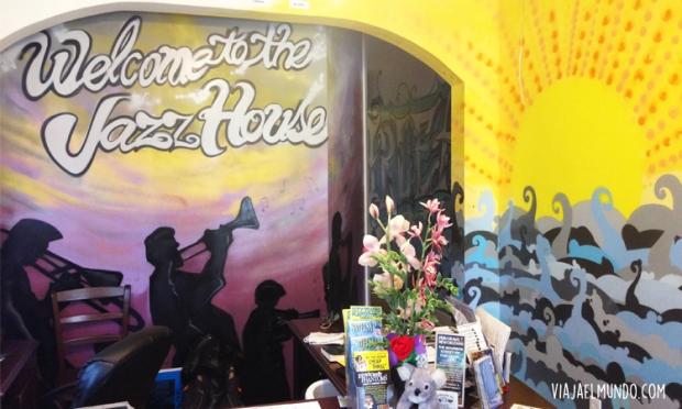 El Nola Jazz House es un hostal en New Orleans que siempre recuerdo con cariño