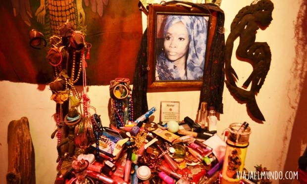 En el Museo histórico del Voodoo, que es parte de otra historia