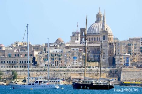 Pero nada se compara con ver, desde lejos, a Valleta y su contundencia