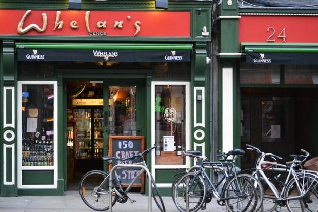 Con Chey, quien me hospedó en Irlanda, iba casi todas las noches a un pub distinto en Dublín