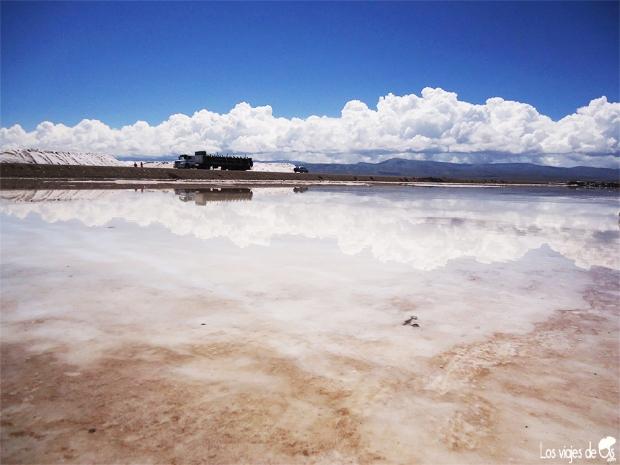 Cielo de sal, en Purmamarca