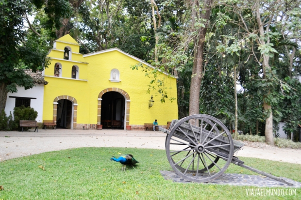 La capilla del Hotel Antigua Misión