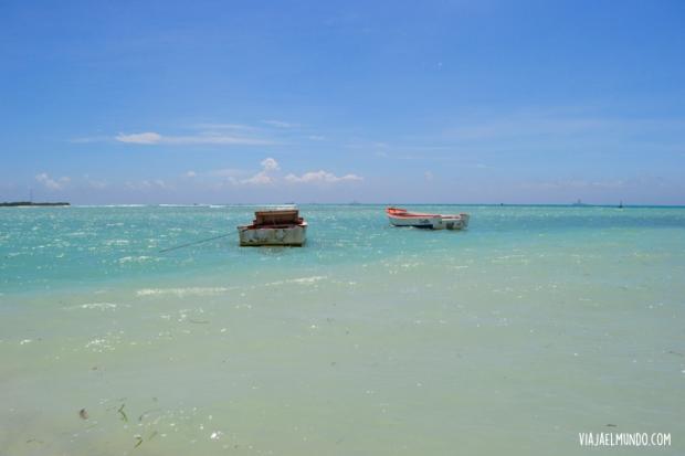 La playa en la que nos bañamos en Aruba
