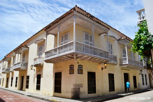 Me quería traer los balcones de Cartagena en la maleta