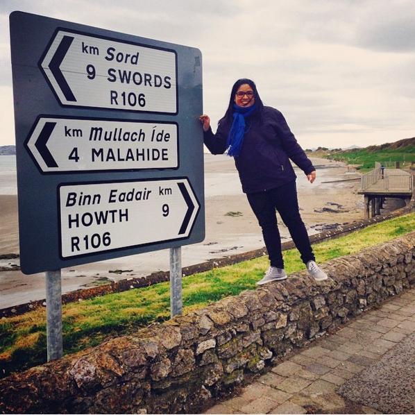Y siempre disfruta la travesía (aunque estés en Irlanda y perdida)
