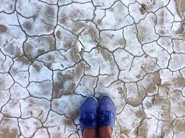 Hay que seguir caminando, aunque haya sequía